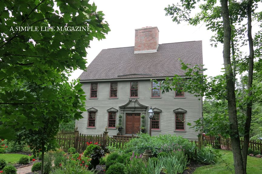 Early new england primitive exterior house colors joy for Early new england home plans