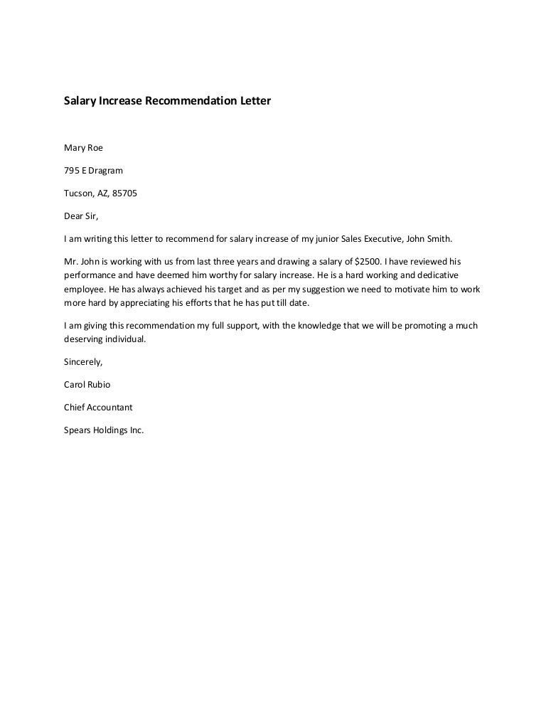 8 salary increase templates excel pdf formats college graduate - college recommendation letter