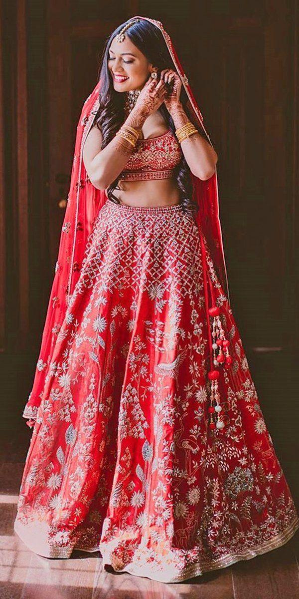 30 Exciting Indian Wedding Dresses That You'll Love ❤ indian wedding dresses red traditional anitadongre #weddingforward #wedding #bride