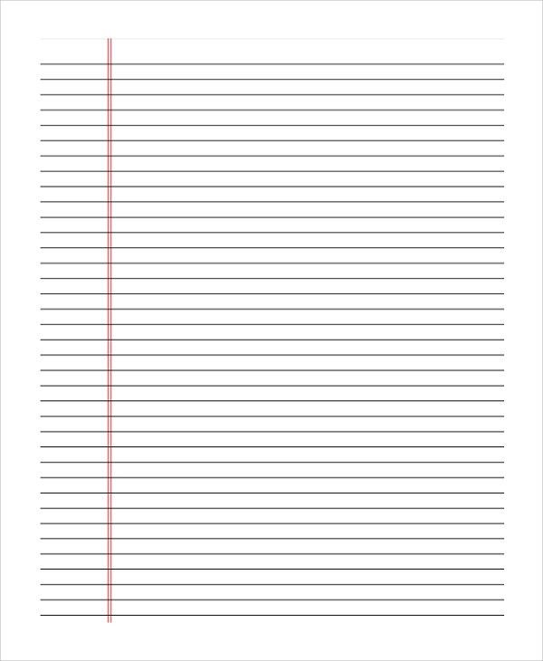 Double Lined Paper Handwriting Without Tears Double Line Notebook - sample lined paper