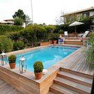 Quels sont les atouts d'une piscine en bois ? Architecture Bois