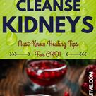 Natural Home Drink To Cleanse Your Kidneys - Live The Alternative