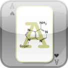 App name: Biochem Flash Cards.  ADenine by drldf