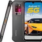5G Rugged Smartphone, 8GB + 256GB, 5G Network,6.1 Screen Android 11, 5200mAh Battery Waterproof Cell