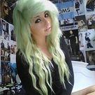 Green Hair Colors
