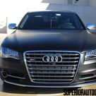 2013 Audi S8 Looks The Business in Satin Black Wrap