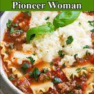 Lasagna Soup Pioneer Woman