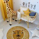 Babyzimmer mit Rattan, Bambus & Holzdeko einrichten