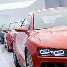 El Audi Sport Quattro Laserlight Concept fue presentado en CES2014 de Las Vegas, incorporando la más novedosa tecnología de iluminación con faros láser inteligentes.