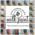Miss Mustard Seed Milk Paint Grain Sack, light gray paint, taupe paint, furniture paint, chalk paint