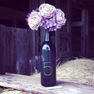 Wine Bottle Flowers