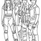 Free Printable Descendants Coloring Pages For Kids