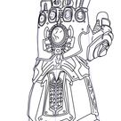 How to Draw The Infinity Gauntlet from Avengers - Infinity War - DrawingTutorials101.com