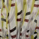 Medium Diane Von Furstenberg Romper Sheer Linen Summer Sleeveless