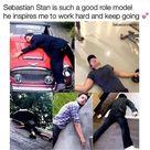 Everybody loves Marvel - Sebastian Stan Is The Best Role Model