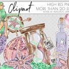 Mermaid Clipart, Glitter Scrapbook, Sea Underwater Clip Art By Personal Epiphany   TheHungryJPEG.com