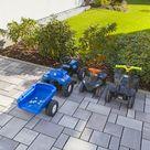 Das Ökopflaster Laziano für lebendige Flächengestaltung im Hof
