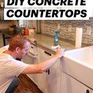 Build your own DIY CONCRETE COUNTERTOPS