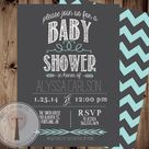 Modern Baby Showers