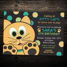 Cat Birthday Parties