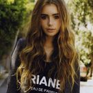 Lily Collins Casual