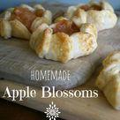 Homemade Apple Blossoms and my favorite pie dough recipe