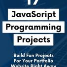 22 JavaScript Projects for Beginners For 2021 (With Source Code)