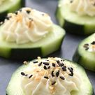 Everything Bagel Cucumber Bites Recipe - Off The Muck Market | Off The Muck Market