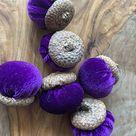 Felted acorns Thanksgiving decor Wool felt acorns Fall decor Wool acorns felted Autumn decor Fall wedding decor Felt acorns
