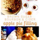 Brown Sugar, Bourbon, & Cider Apple Pie Filling