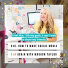 How to Make Social Media Fun Again
