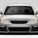 2002-2005 Volkswagen Passat Duraflex R Look Front Bumper Cover - 1 Piece