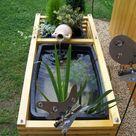 Gartenteich für den kleinen Garten oder auch den Balkon