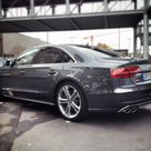 Audi S8   updated for 2014 and driven, fast