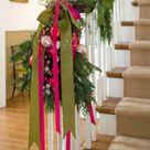 Christmas Stairs Decoration Ideas - DigsDigs