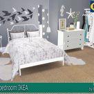 Set of bedroom IKEA by Natatanec