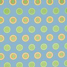 SIS Custom Fabrics Panel Curtains in Candy Dot