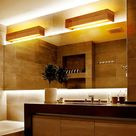 Horsten Modern Japanese Style Led Lamp Oak Wooden Wall Lamp Nordic Solid Wood Mirror Wall Lights Sconce For Bedroom Bathroom|light sconce|wall lights sconceslight sconces for bedroom - AliExpress