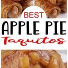 Easy Apple Pie Taquitos – Best Homemade Apple Pie Recipe – {Easy} Recipes – Snacks – Desserts – Breakfast – Quick – Simple