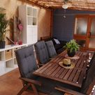 Ferienwohnung mit eigenem Eingang, eingezäunten Garten und Sauna