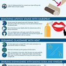 15 Cleaning Hacks | Daily Infographic