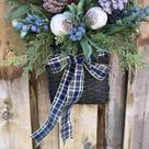 Mistletoe Christmas Basket
