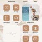iOS14 Icons iPhone App BUNDLE   62 App Pack 3 colors, iPhone App Icons, Home Screen Icons, Neutral App Icons Aesthetic, App Icon Cover