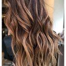 brown blonde hair balayage caramel highlights color trends