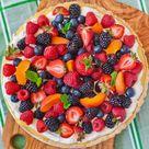 Classic Fruit Tart Recipe (video)
