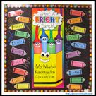 Crayon Bulletin Boards