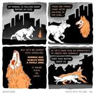 Existential Animal Comics From 'Chats With The Void'