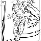 「アイアンマン 塗り絵」の検索結果