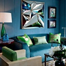 Living Room Turquoise