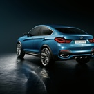 2013 BMW X4 Concept    Grill